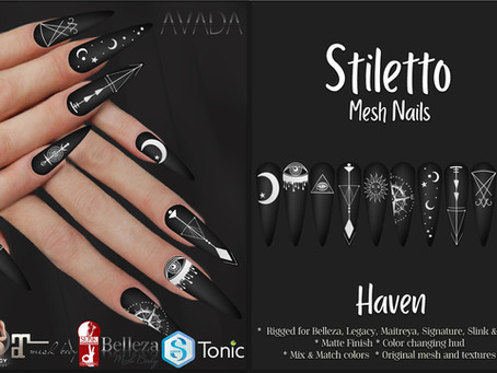 Stiletto Nails Haven