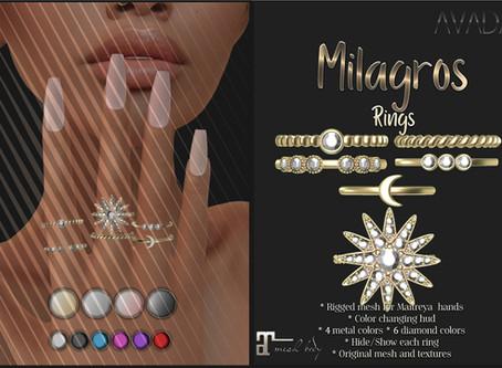 Milagros Rings