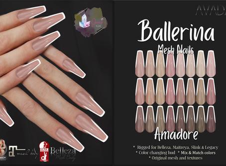 Ballerina Nails Amadore