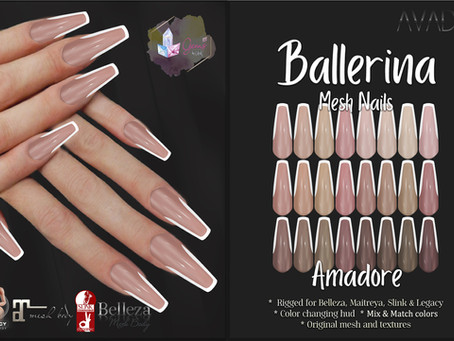 Ballerina Nails Amadore