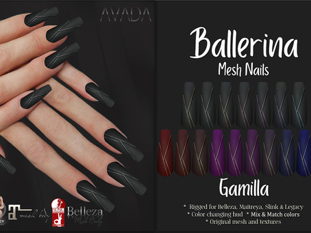 Gamilla Ballerina Nails