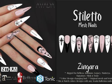 Stiletto Nails Zingara