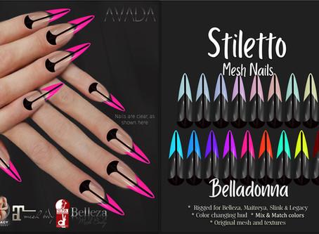 Stiletto Nails Belladonna