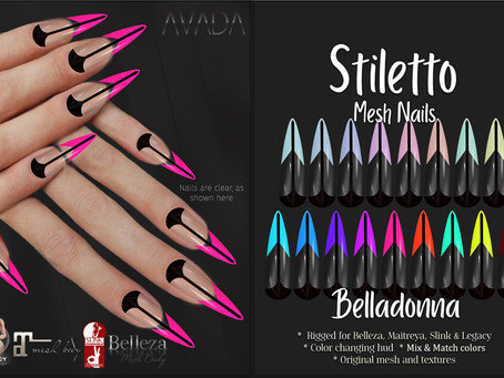 Stiletto Nails Belladonna