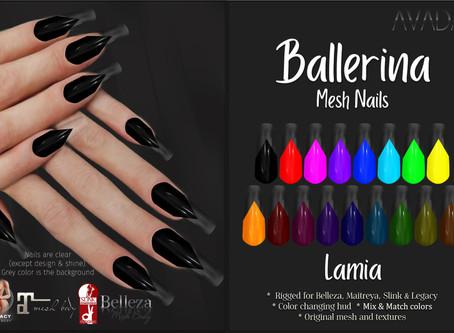 Ballerina Nails Lamia