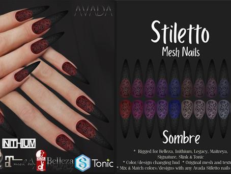 Stiletto Nails Sombre
