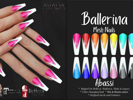 Abassi Ballerina Nails