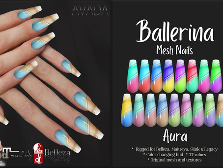 Aura Ballerina Nails