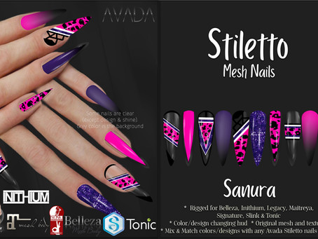 Stiletto Nails Sanura