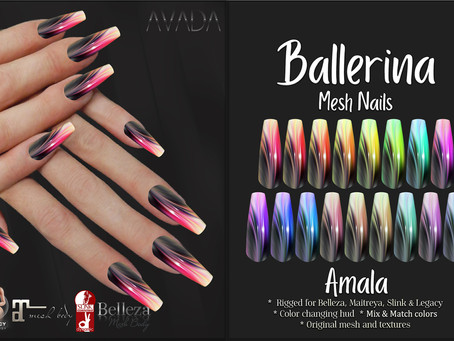 Amala Ballerina Nails