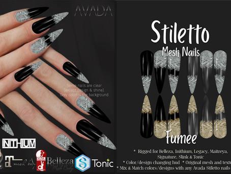Stiletto Nails Fumee