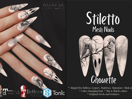 Stiletto Nails Chouette