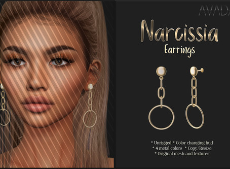 Narcissia Earrings