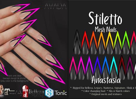 Stiletto Nails Anastasia