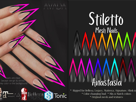 Stiletto Nails Anastasia