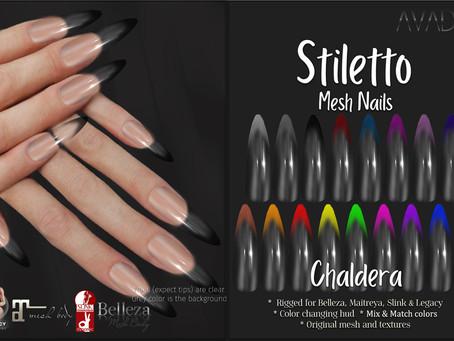 Stiletto Chaldera Nails