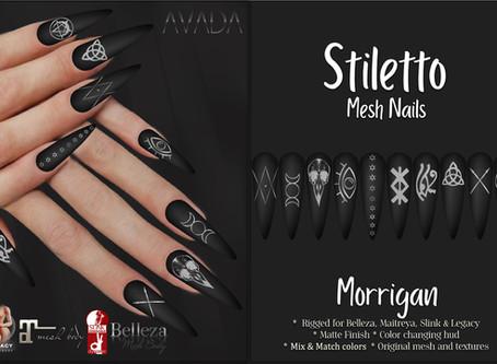 Stiletto Nails Morrigan