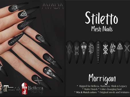 Stiletto Nails Morrigan