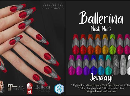 Jendayi Ballerina Nails