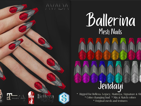 Jendayi Ballerina Nails