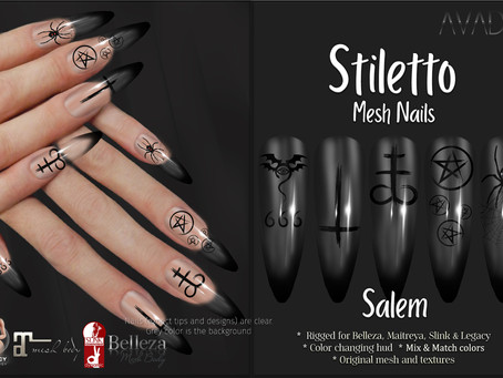 Stiletto Salem Nails