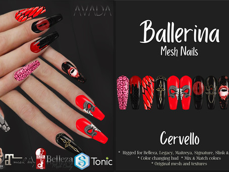 Ballerina Nails Cervello