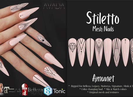 Stiletto Nails Amunet