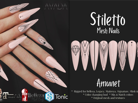 Stiletto Nails Amunet