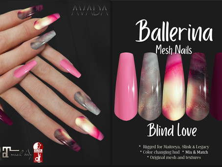 Blind Love Ballerina Nails