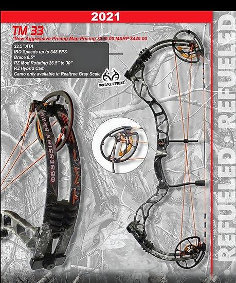 OBSESSION BOWS TM 33