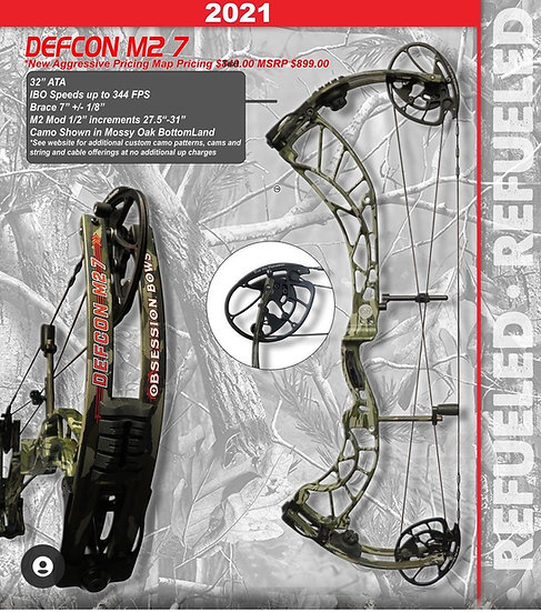 ObsessionBows DEFCON M2 7
