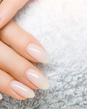 Manicure and Hands Spa. Beautiful Woman hand closeup. Manicured nails and Soft hands skin