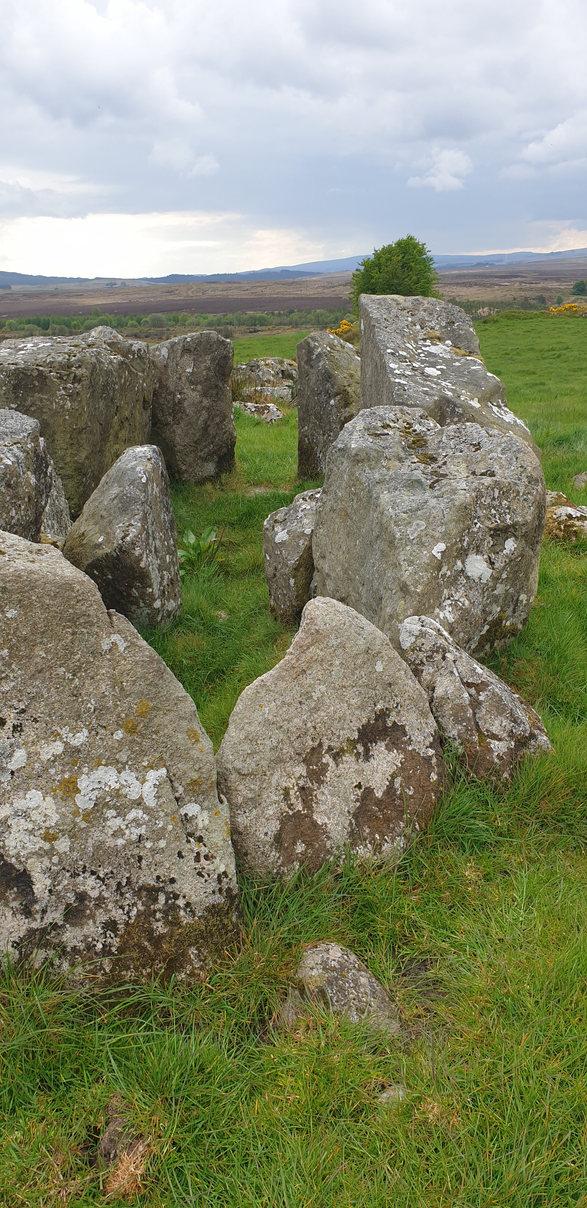 Ballybriest Duel Court Tomb