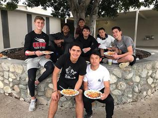 1st Spaghetti Team Dinner! Thank you to