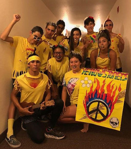 Yellow Team - The Yellowstoners with an