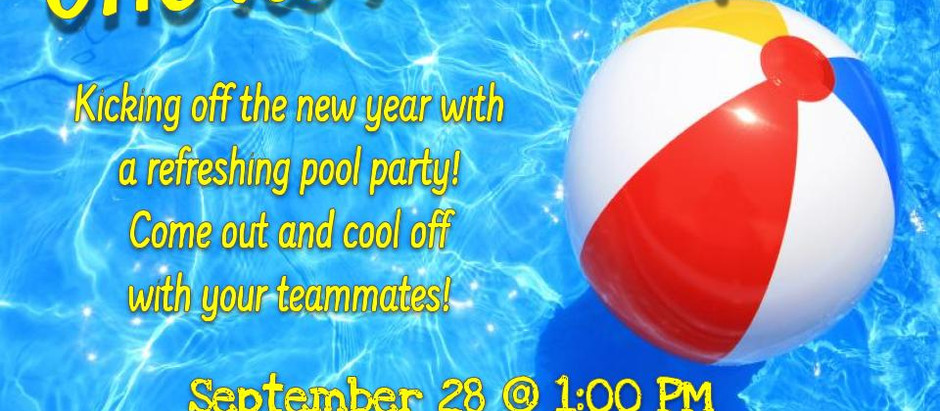 XC Pool/Potluck Party!