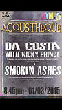 Nicky @ The Picture House (Acousteque) with Da Costa!