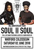 Nicky to open up again for Soul II Soul - 1st & 2nd of June 2018!