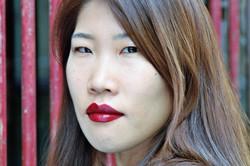 """Portrait couleur """" Jeune femme"""""""