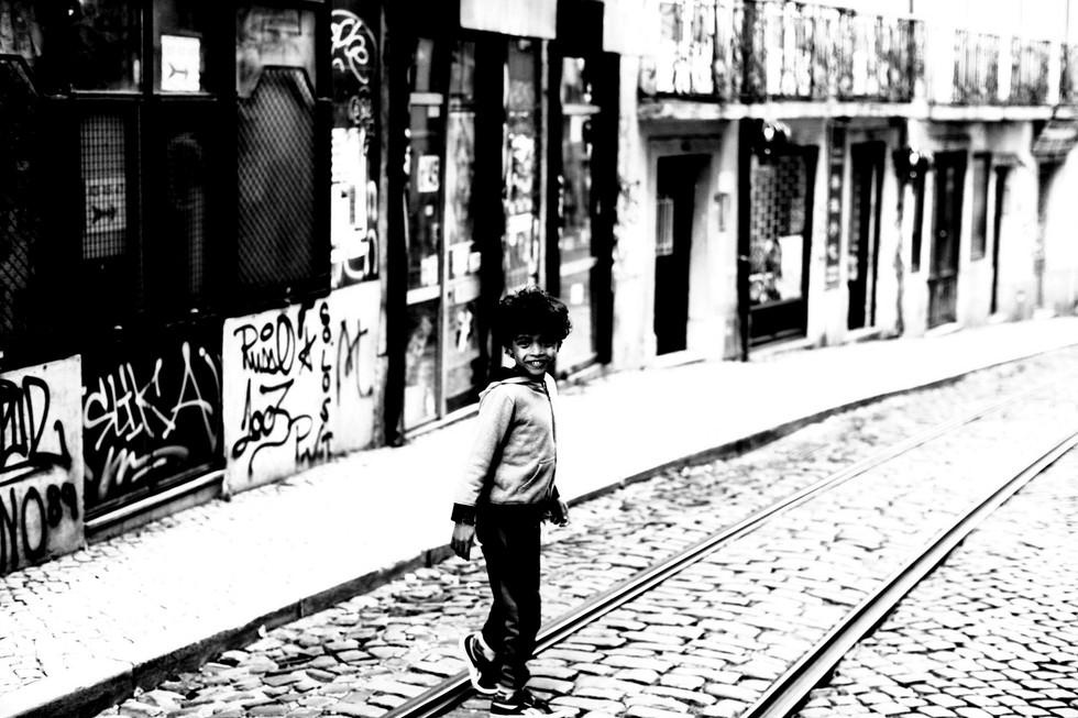 """Série """"ombre et lumière"""" Little kid"""