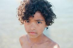 Photo d enfant en couleur