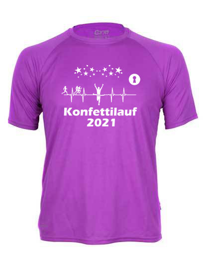 Konfettilauf Shirt 2021 Men