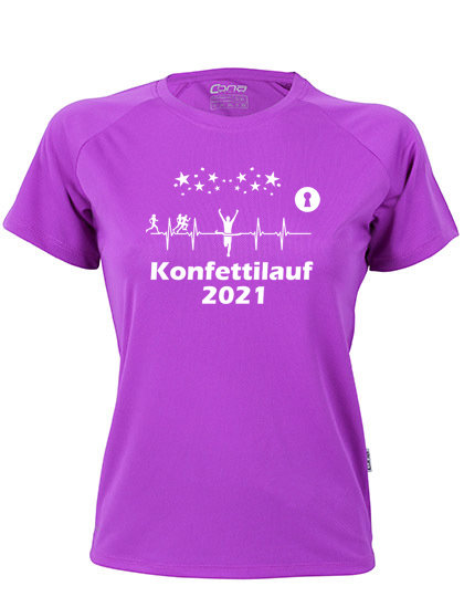 Konfettilauf Shirt 2021 Women