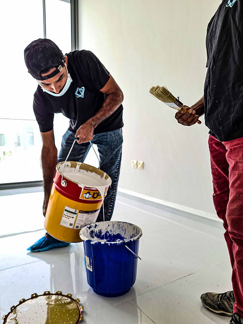 Commercial painting in Dubai