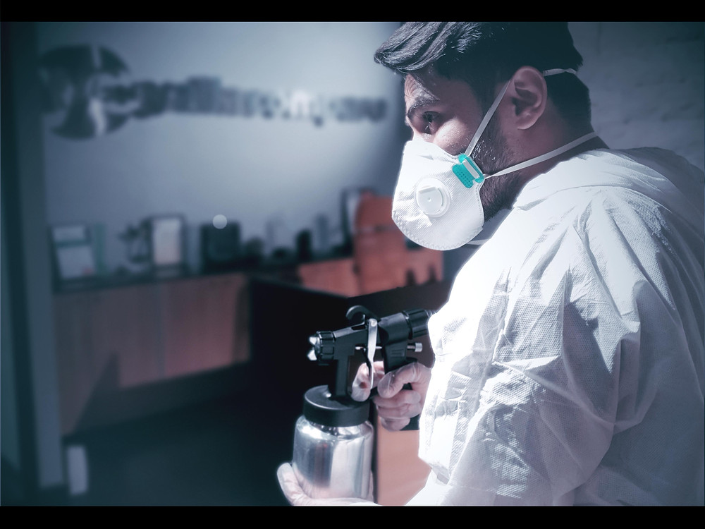 Best disinfection company in Dubai - Crystalblu