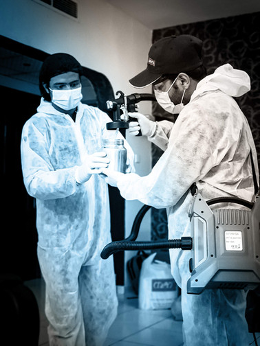 Disinfection Crew