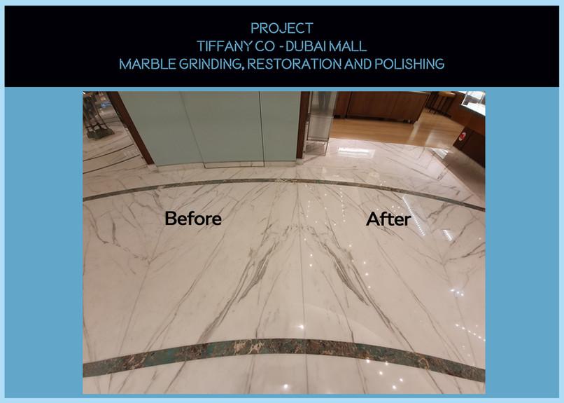 Tiffany Co - Marble Polishing