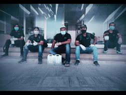 Crystalblu disinfection team