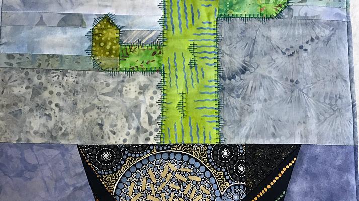 Cactus Foundation Paper Pieced Pattern PDF