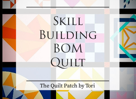 Skill Building Block of the Month Quilt